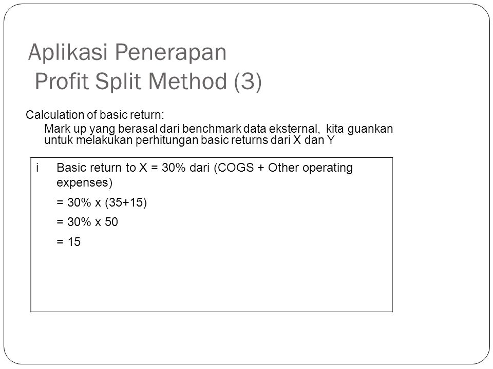 Aplikasi Penerapan Profit Split Method (3)