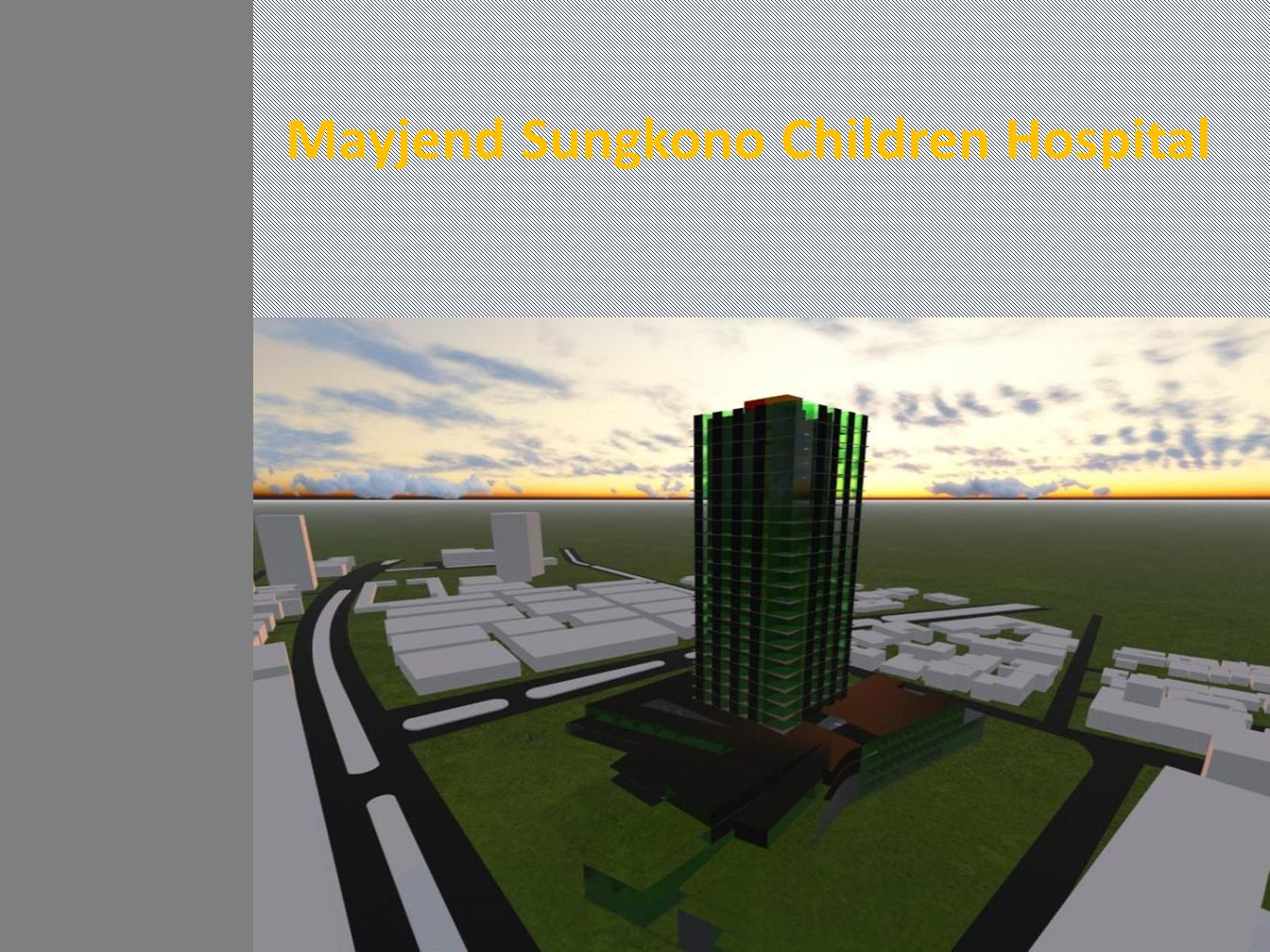 Mayjend Sungkono Children Hospital