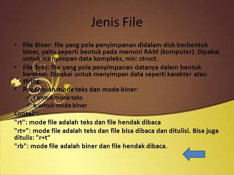 Jenis File