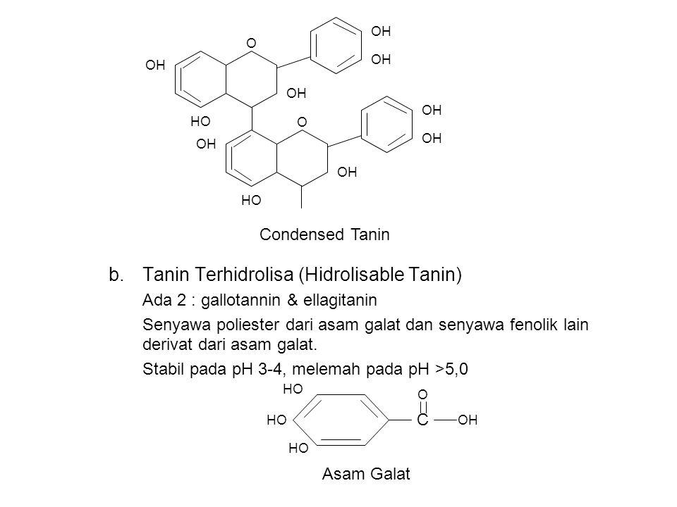 Tanin Terhidrolisa (Hidrolisable Tanin)