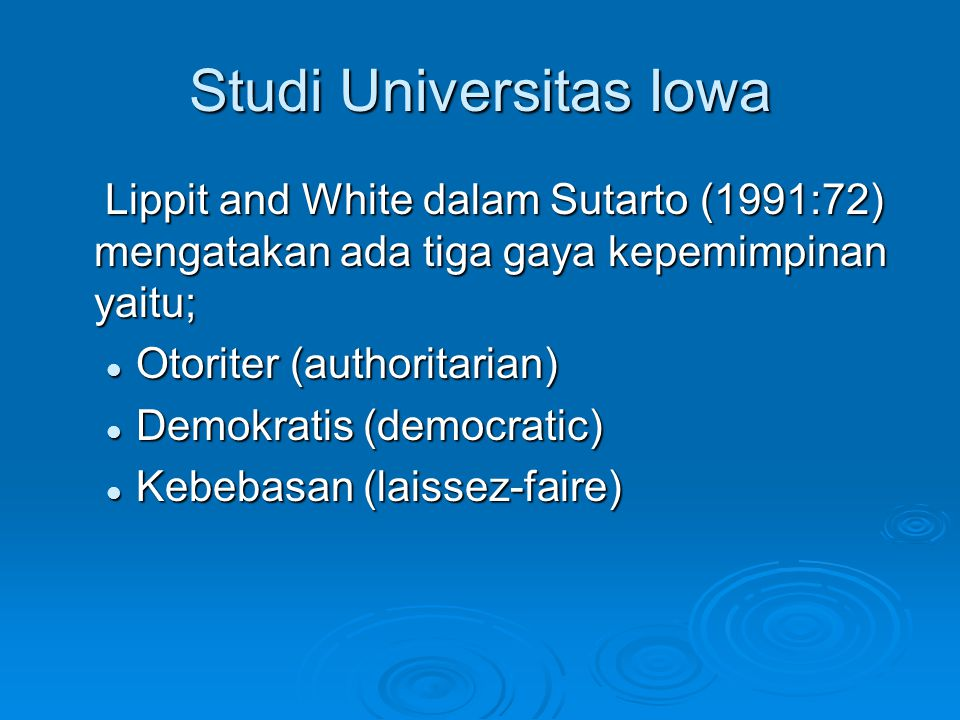 Studi Universitas Iowa