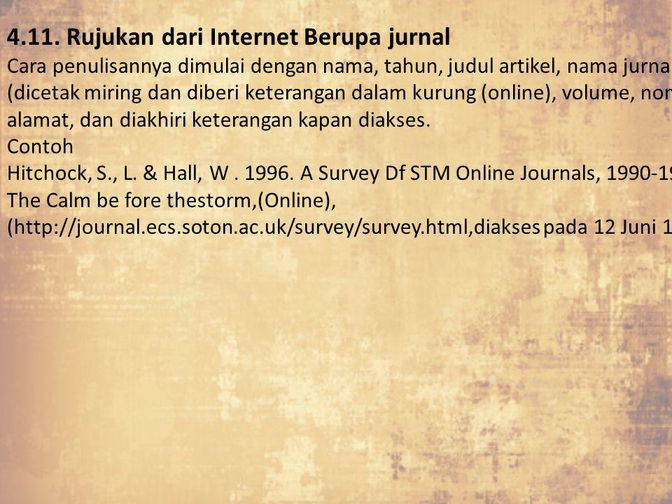 4.11. Rujukan dari Internet Berupa jurnal