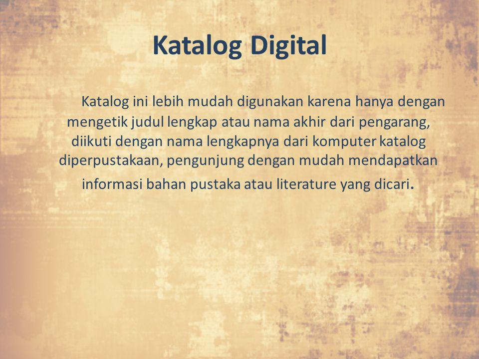 Katalog Digital