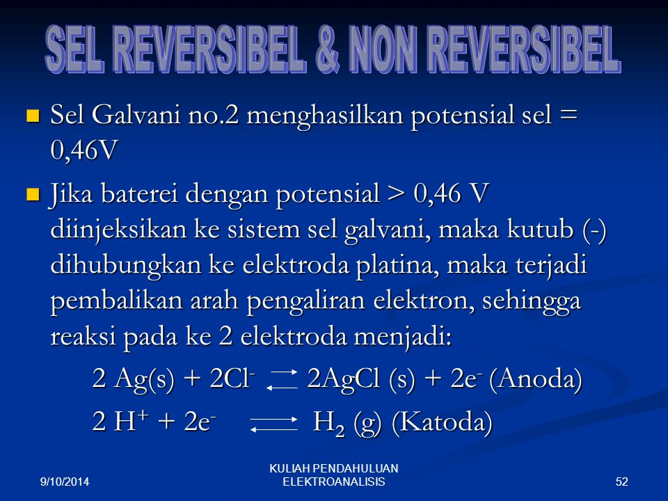 SEL REVERSIBEL & NON REVERSIBEL