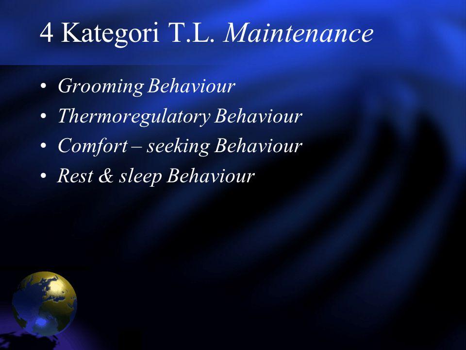 4 Kategori T.L. Maintenance