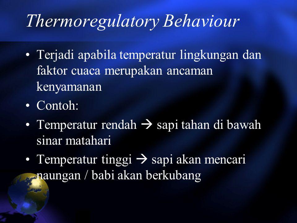 Thermoregulatory Behaviour