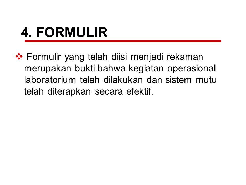 4. FORMULIR