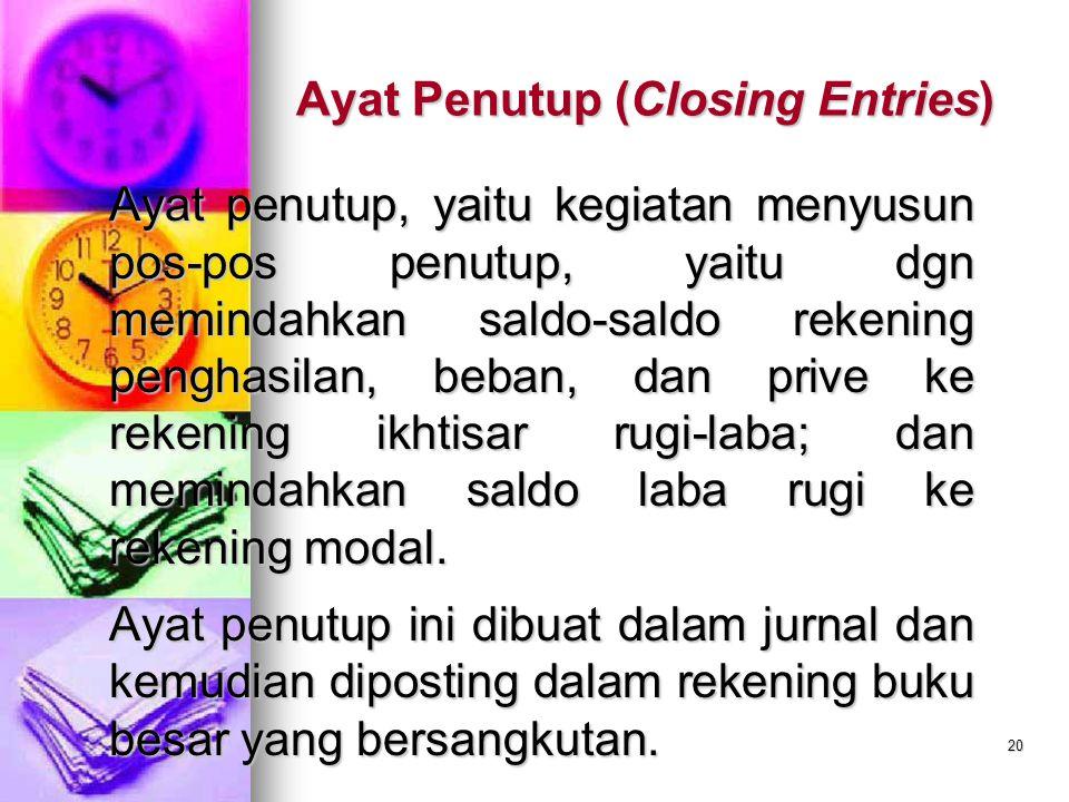 Ayat Penutup (Closing Entries)