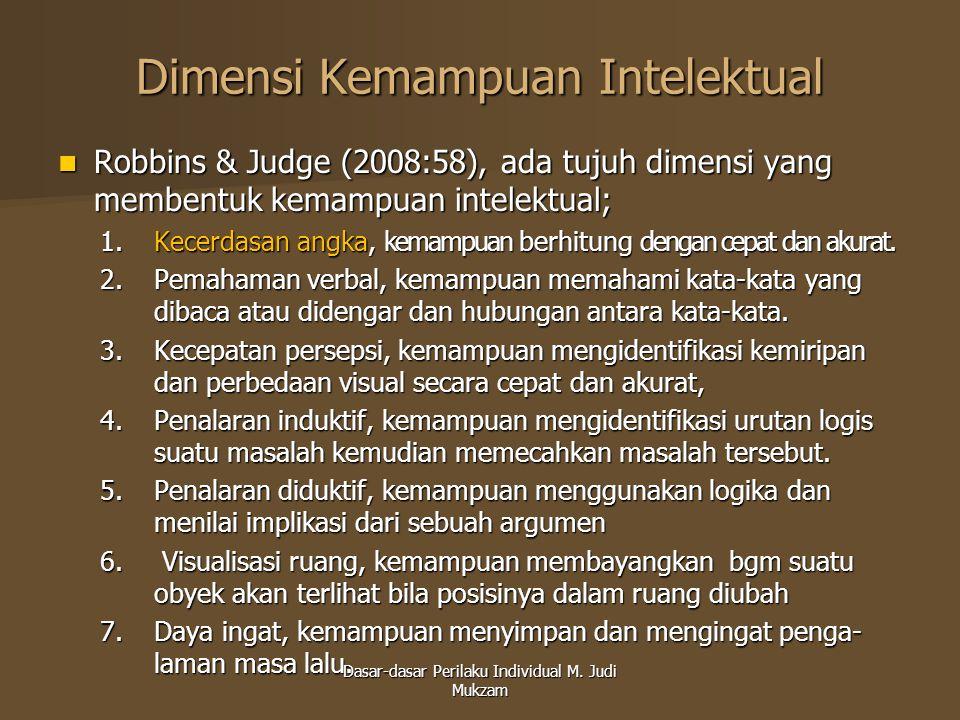 Dimensi Kemampuan Intelektual