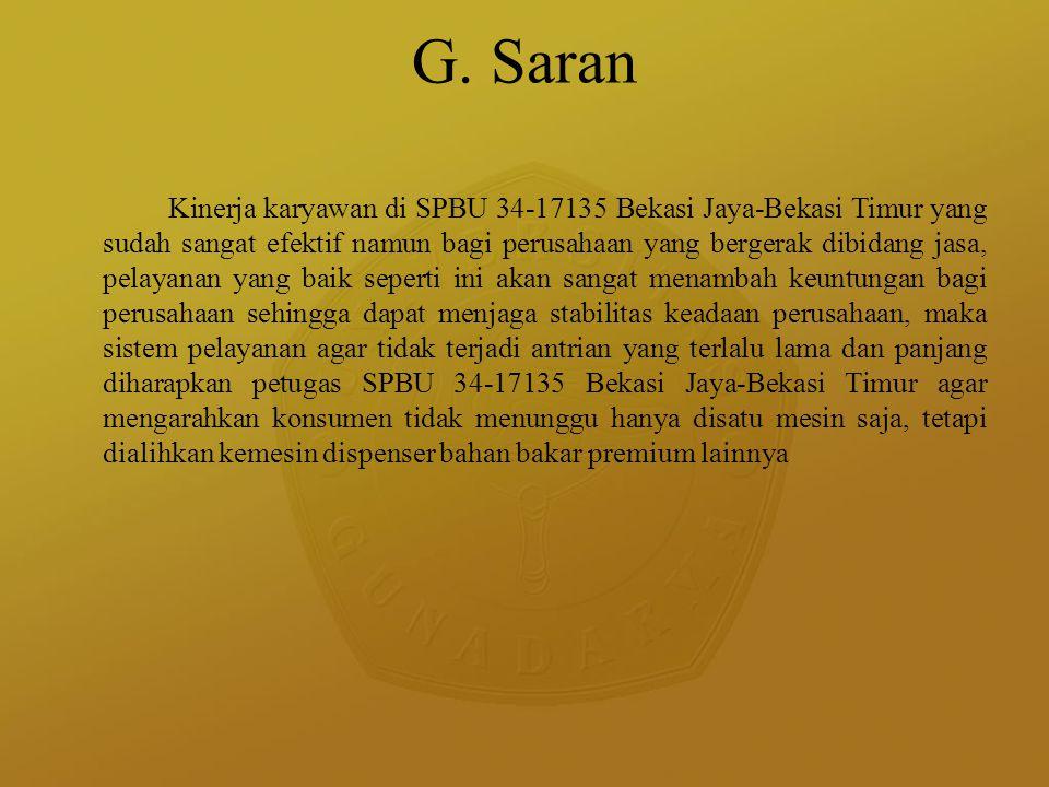G. Saran