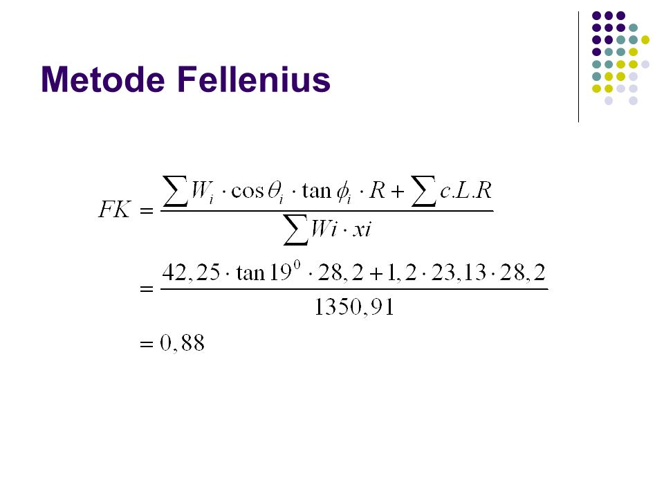 Metode Fellenius