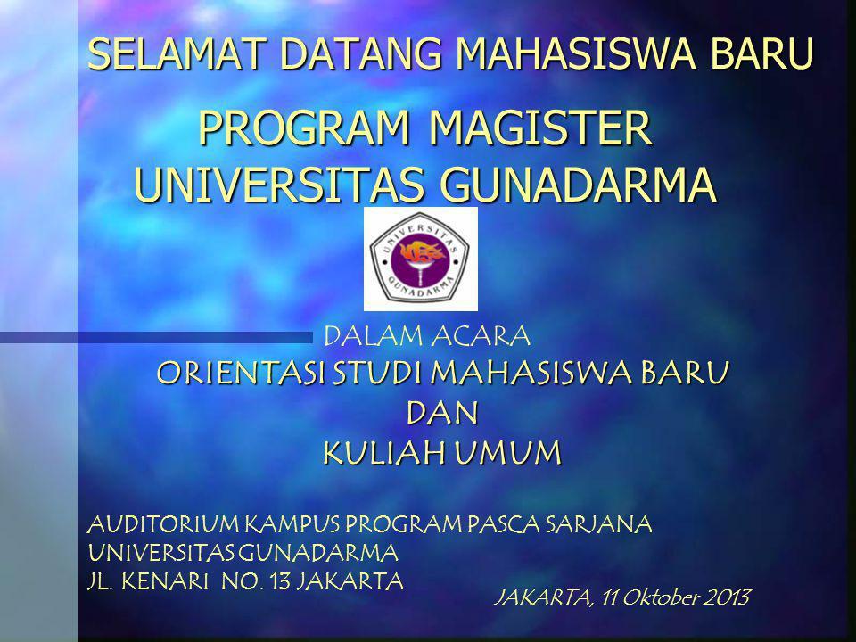 SELAMAT DATANG MAHASISWA BARU