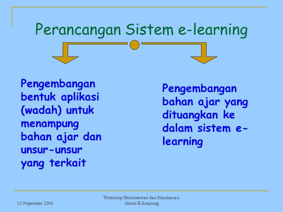 Perancangan Sistem e-learning