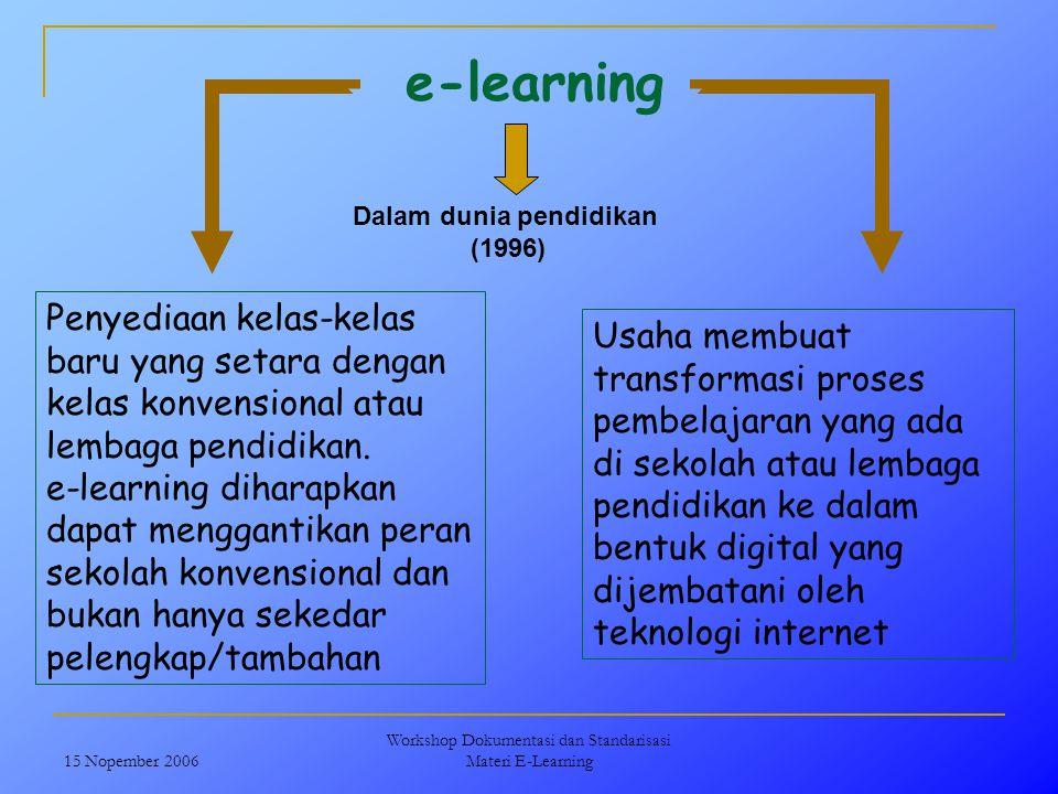 Dalam dunia pendidikan
