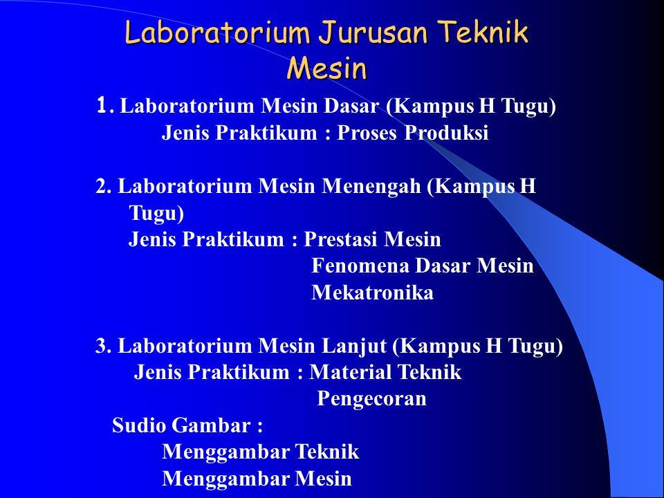 Laboratorium Jurusan Teknik Mesin