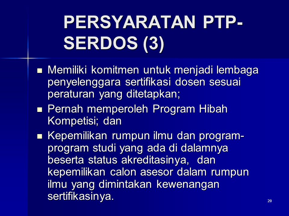 PERSYARATAN PTP-SERDOS (3)