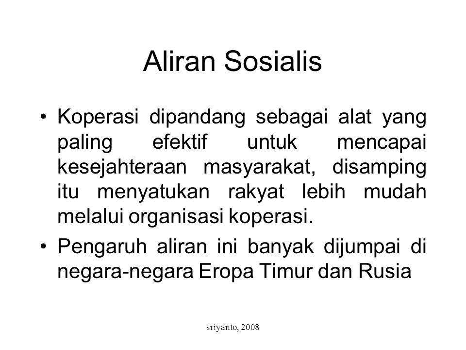 Aliran Sosialis