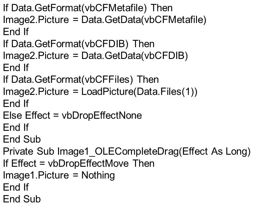 If Data.GetFormat(vbCFMetafile) Then