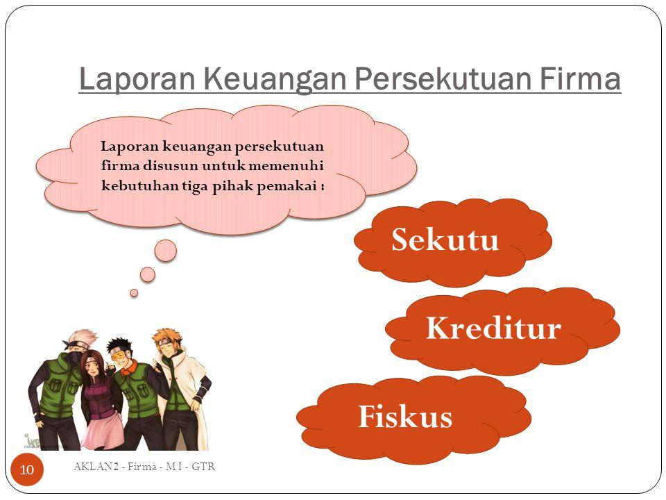 Laporan Keuangan Persekutuan Firma