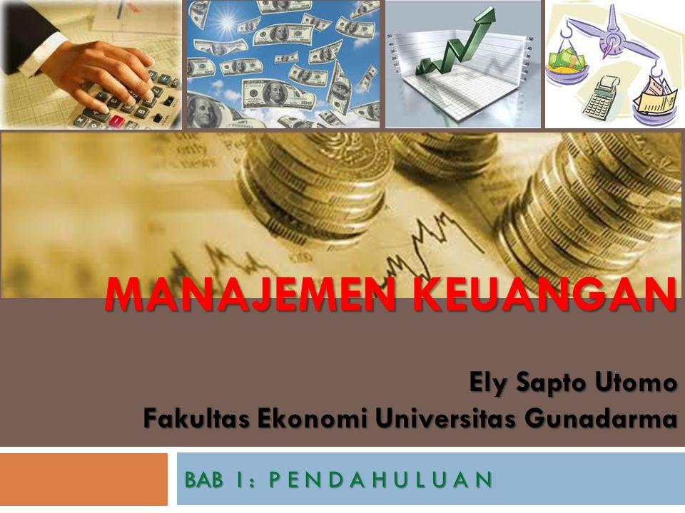 Ely Sapto Utomo Fakultas Ekonomi Universitas Gunadarma