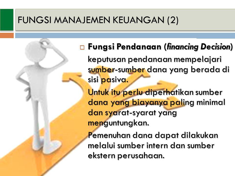 FUNGSI MANAJEMEN KEUANGAN (2)