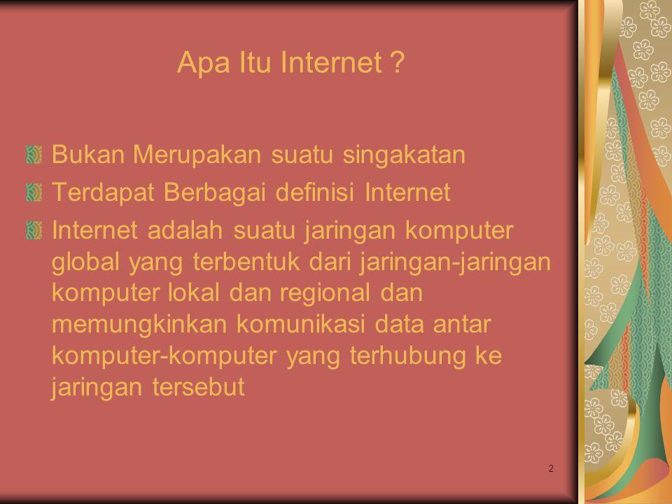 Apa Itu Internet Bukan Merupakan suatu singakatan