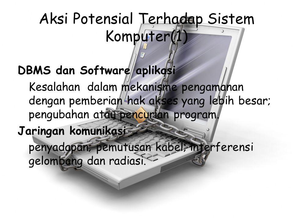 Aksi Potensial Terhadap Sistem Komputer(1)