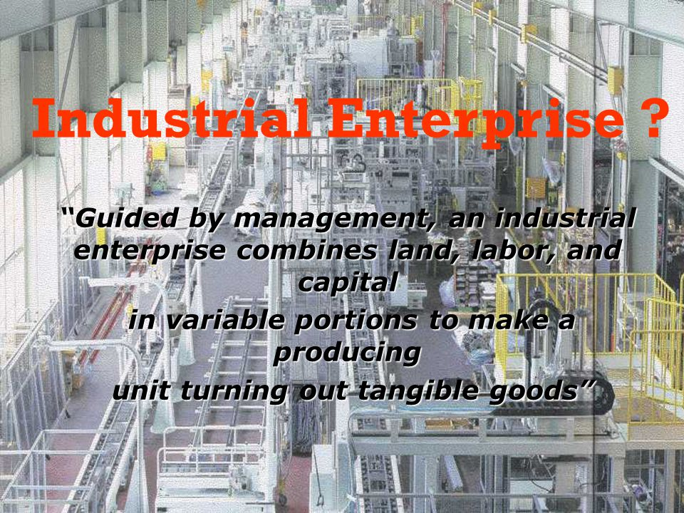 Industrial Enterprise