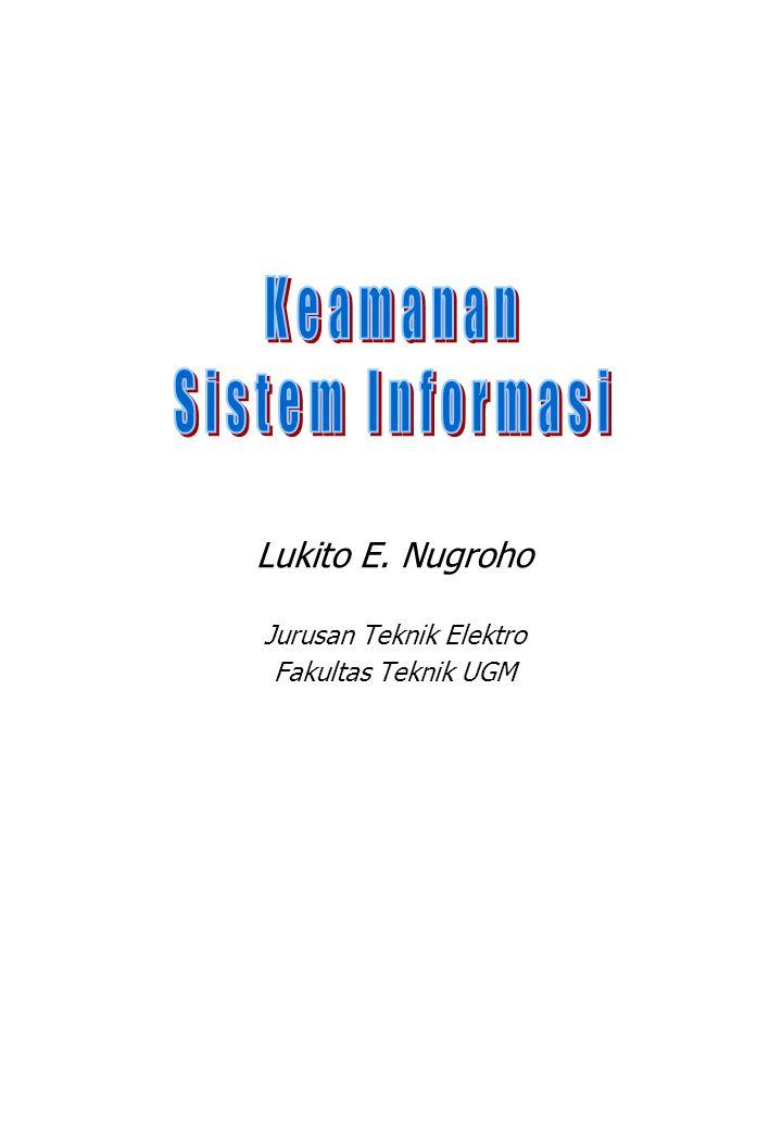 Lukito E. Nugroho Jurusan Teknik Elektro Fakultas Teknik UGM