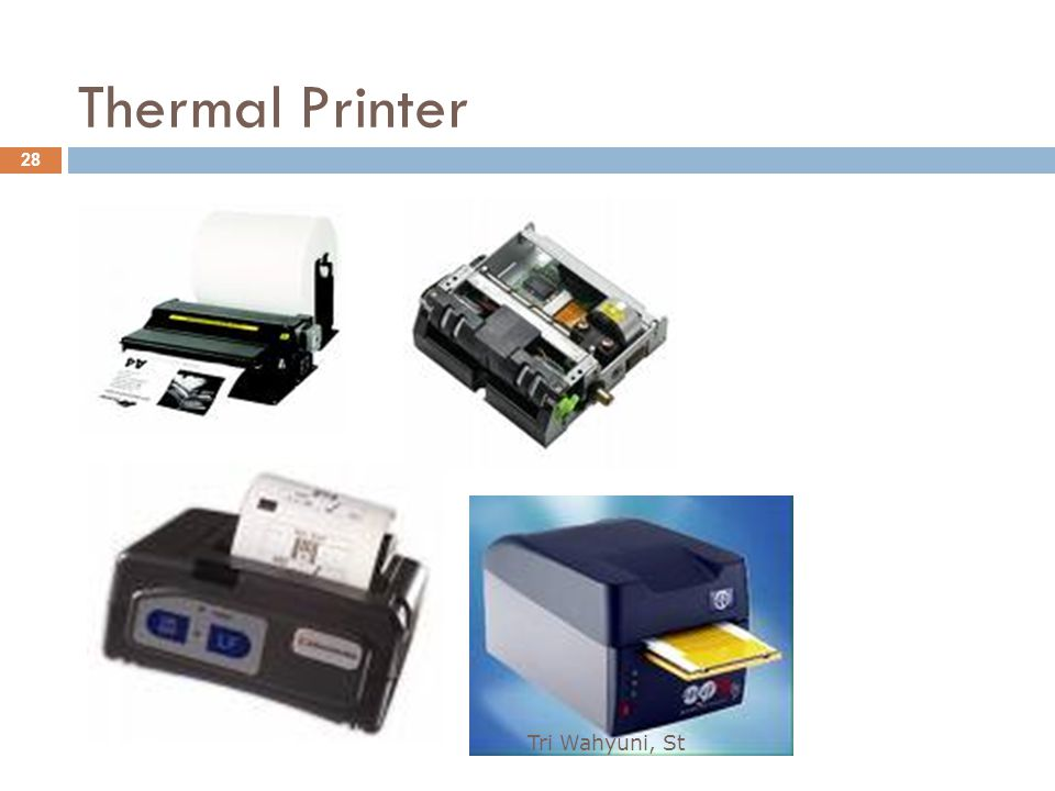 Thermal Printer Tri Wahyuni, St
