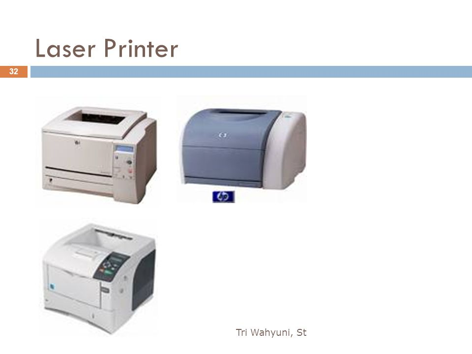 Laser Printer Tri Wahyuni, St