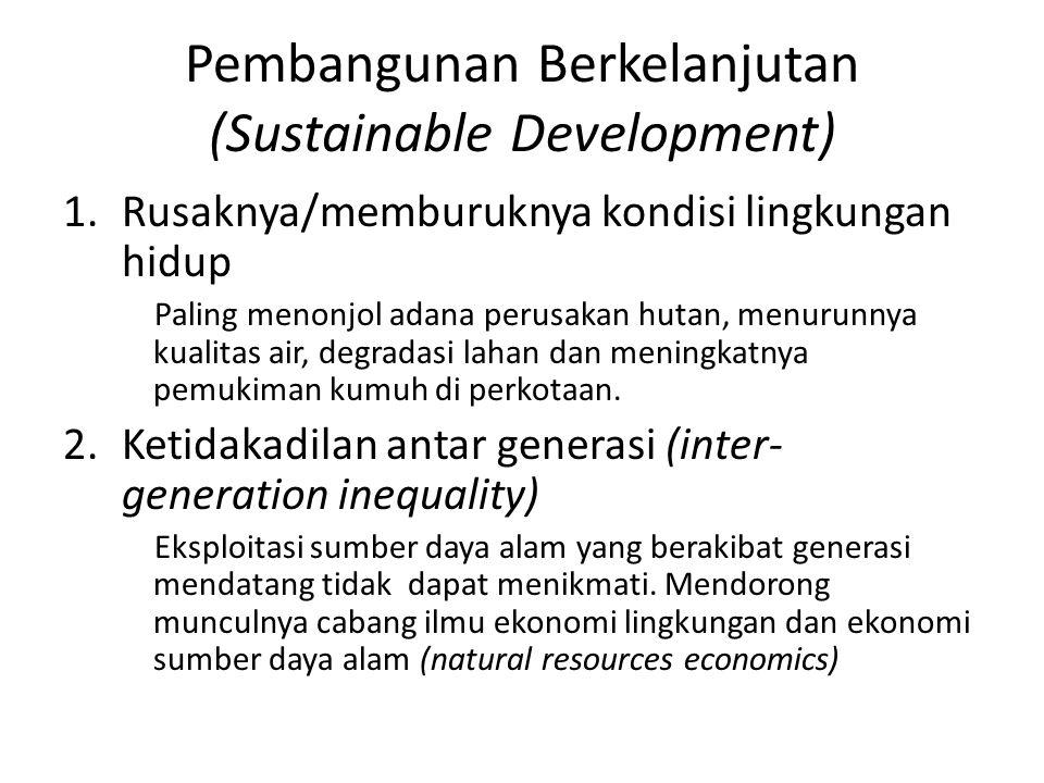 Pembangunan Berkelanjutan (Sustainable Development)