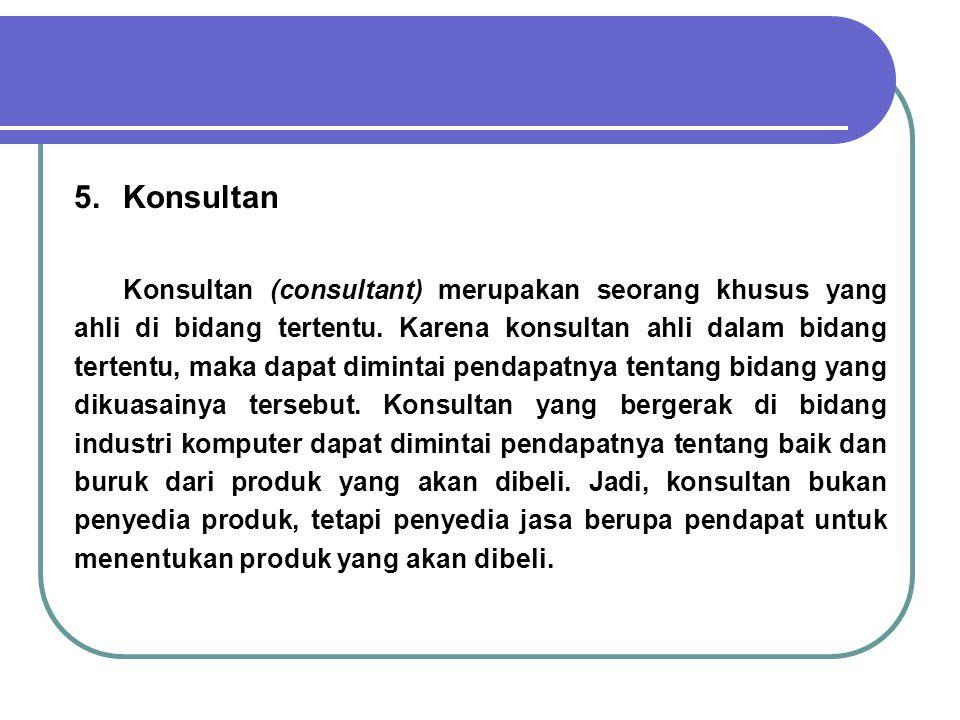 5. Konsultan