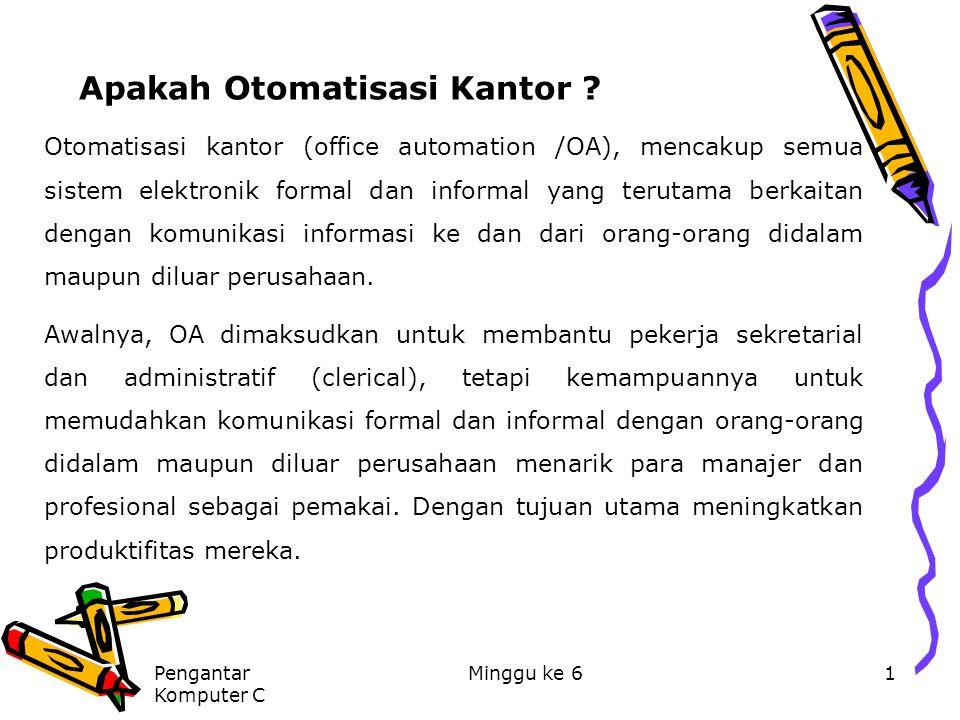 Apakah Otomatisasi Kantor