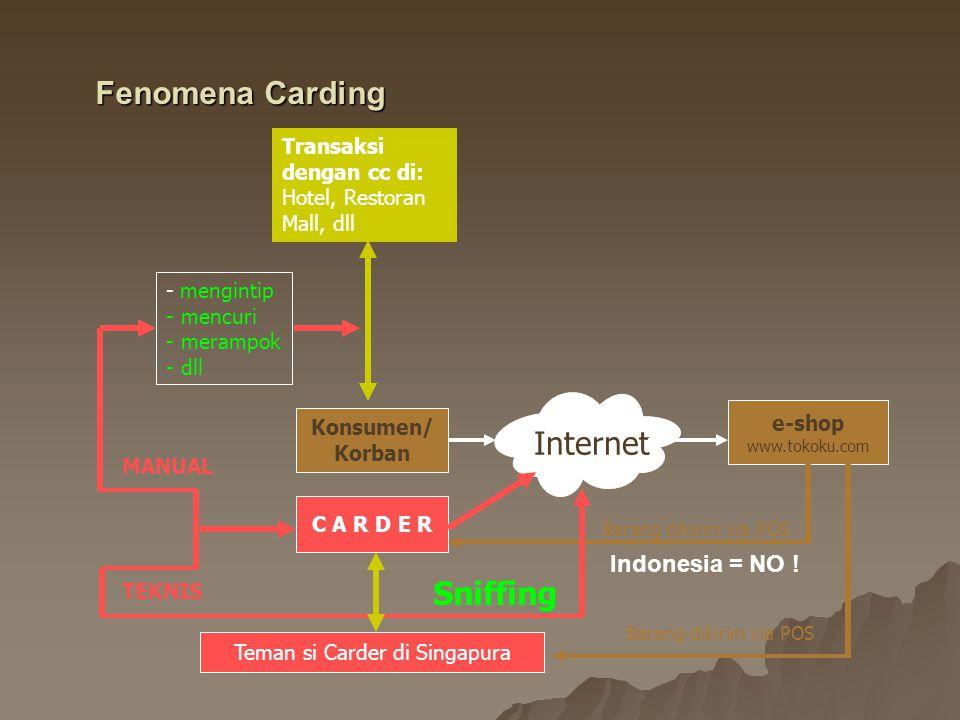 Teman si Carder di Singapura