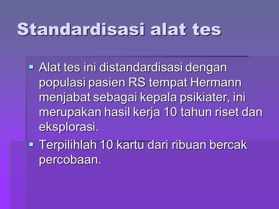 Standardisasi alat tes