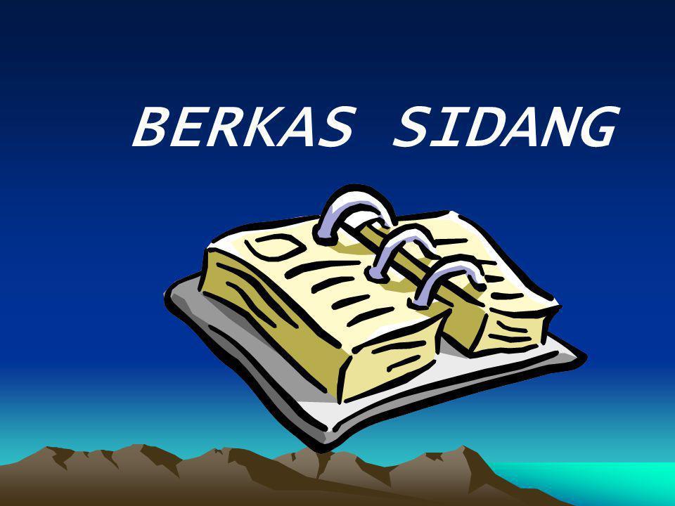 BERKAS SIDANG