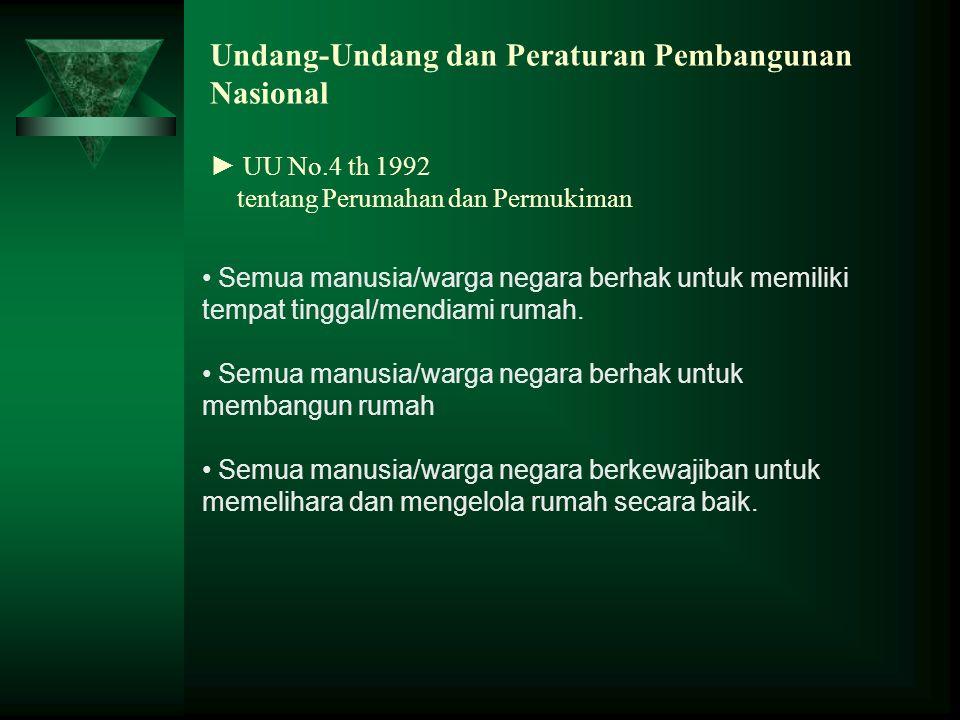 Undang-Undang dan Peraturan Pembangunan Nasional ► UU No