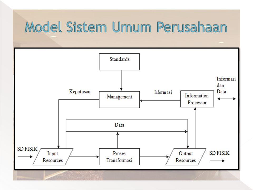 Model Sistem Umum Perusahaan
