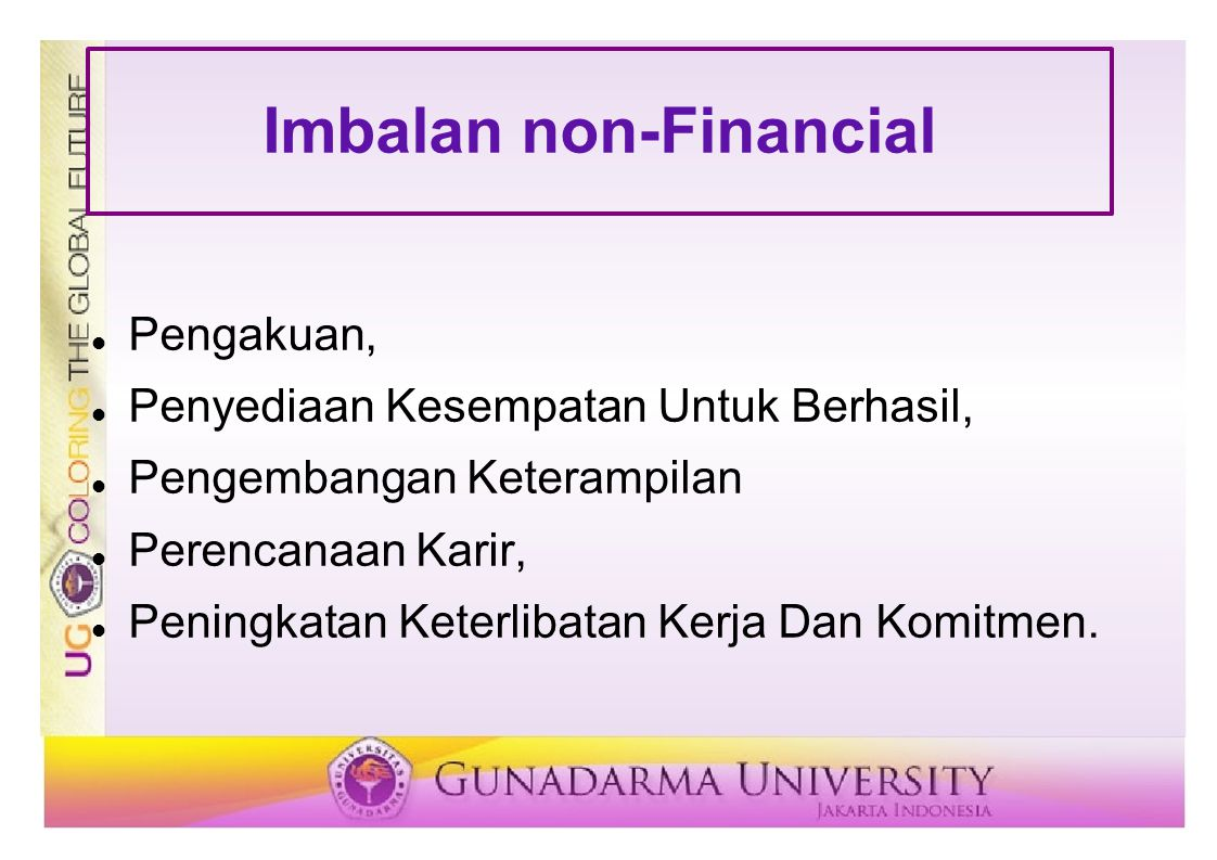 Imbalan non-Financial