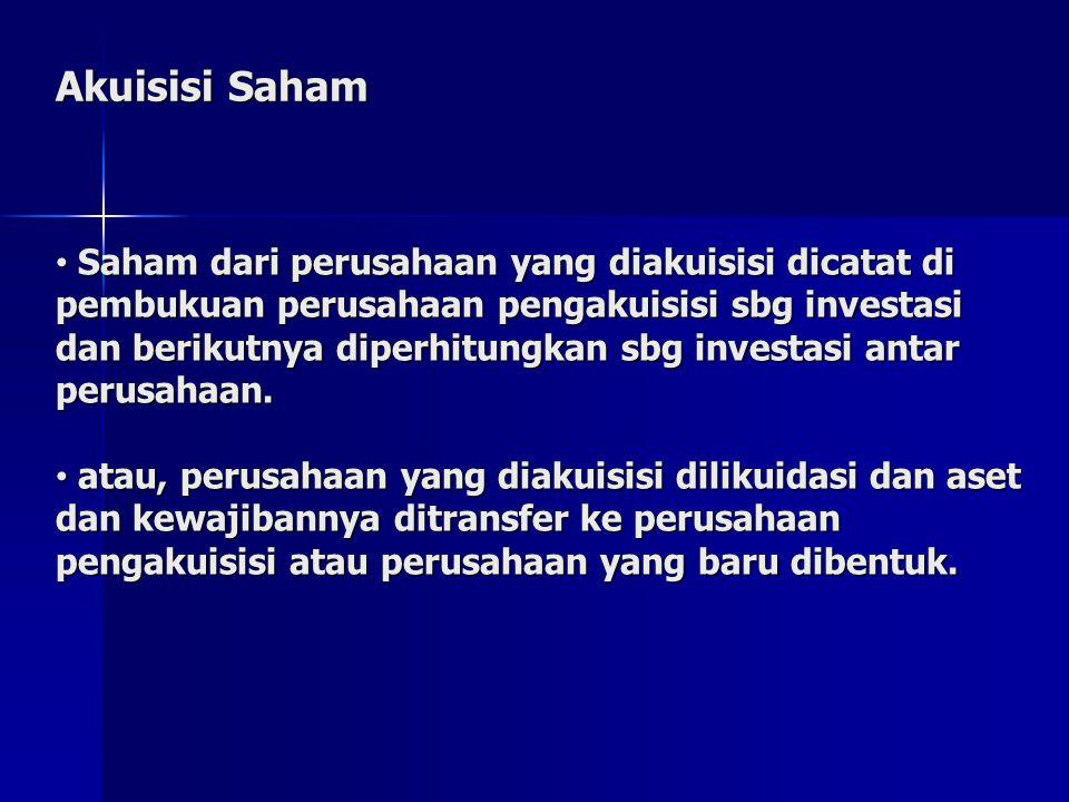 Akuisisi Saham