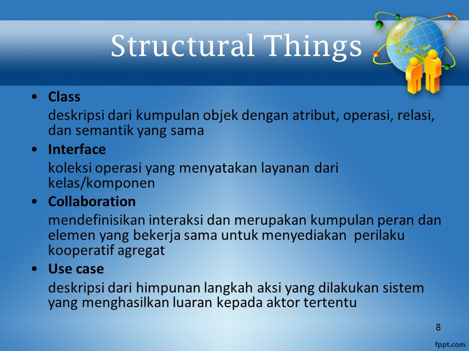Structural Things Class