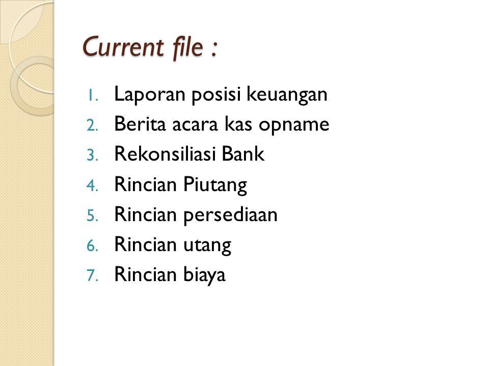 Current file : Laporan posisi keuangan Berita acara kas opname