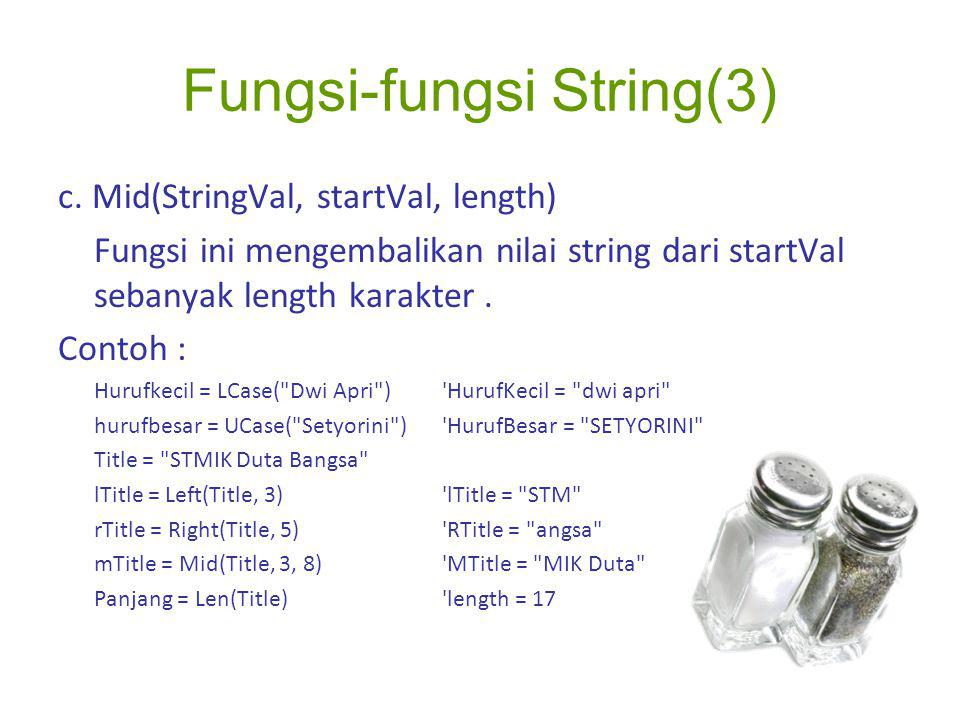 Fungsi-fungsi String(3)