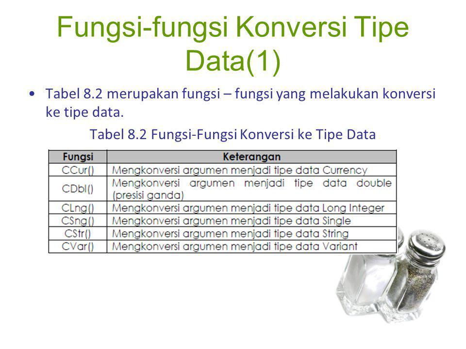 Fungsi-fungsi Konversi Tipe Data(1)
