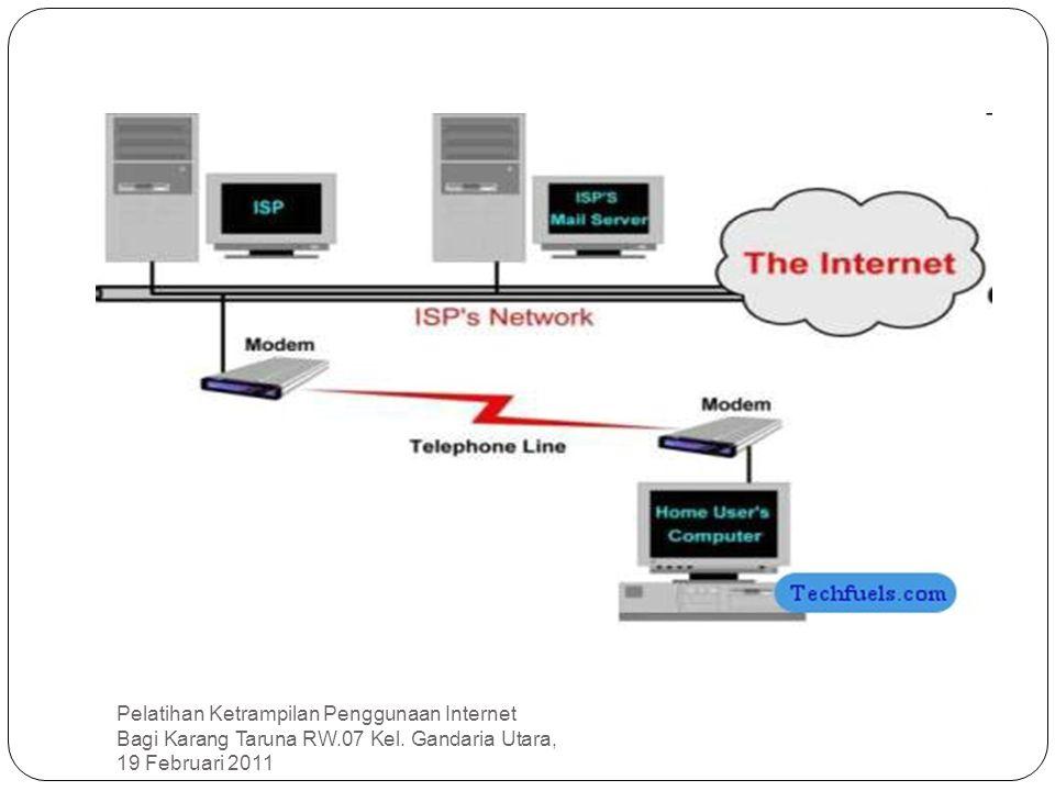Pelatihan Ketrampilan Penggunaan Internet Bagi Karang Taruna RW.07 Kel.