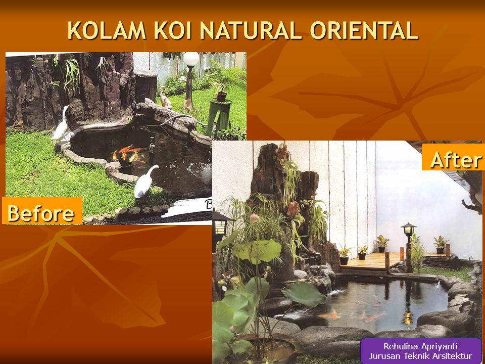 KOLAM KOI NATURAL ORIENTAL