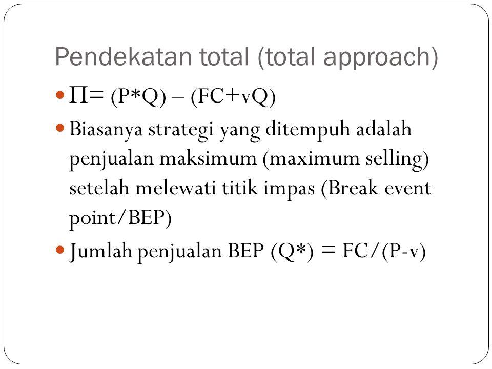 Pendekatan total (total approach)
