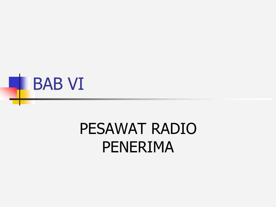 PESAWAT RADIO PENERIMA