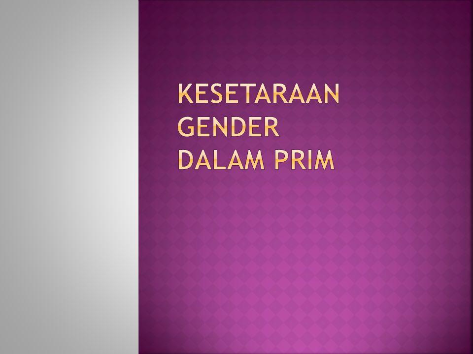 Kesetaraan gender dalam PRIM